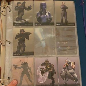 Lot of 57 Halo Trading Cards